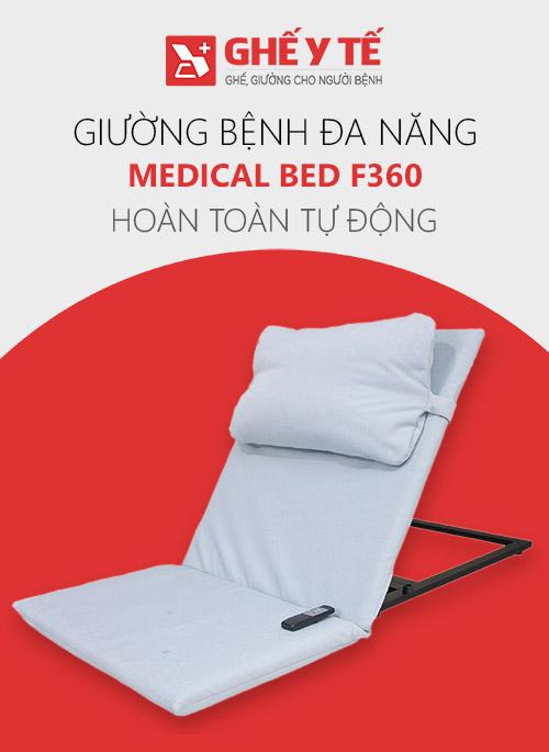 Giường bệnh nhân đa năng Medical Bed F360